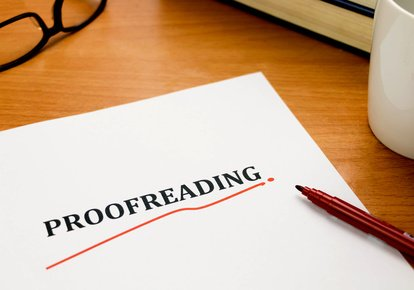 We proofread any of your documents